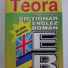 Dictionar englez/roman 35000 cuvinte - A. Bantas / R3P2F