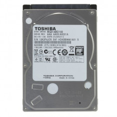 Vand Hdd de laptop 1TB - HDD laptop Toshiba, 500-999 GB, Rotatii: 5400, SATA 3