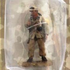 2158.Soldat din plumb pictat manual - Colectia AL III REICH Afrika Korps Soldat