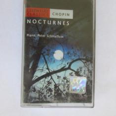 CASETA MUZICA-CHOPIN-Nocturnes - Muzica Clasica, Casete audio