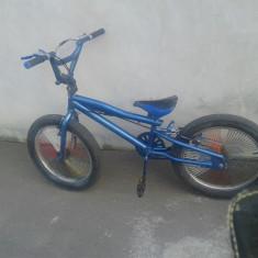 Bmx First Bike jumper 508 - Bicicleta BMX, 15 inch, 20 inch, Numar viteze: 1, Aluminiu, Albastru
