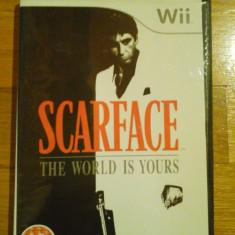 JOC WII SCARFACE THE WORLD IS YOURS ORIGINAL PAL/ by DARK WADDER - Jocuri WII Sierra, Actiune, 18+, Single player
