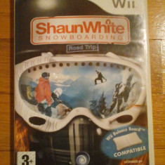 JOC WII SHAUN WHITE SNOWBOARDING ROAD TRIP ORIGINAL PAL/ by DARK WADDER - Jocuri WII Ubisoft, Sporturi, 3+, Multiplayer