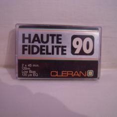 Vand caseta audio Cleran Haute Fidelite 90, originala, raritate!
