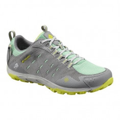 Pantofi de tura impermeabili pentru dame Columbia Conspiracy Razor Outdry (CLM-BL2539M-917) - Adidasi dama Columbia, Culoare: Gri, Marime: 40