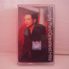 Vand caseta audio Simply Red-Greatest Hits, originala, raritate! - Muzica Pop warner, Casete audio