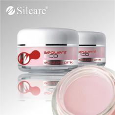 Pudra, praf acrilic roz de constructie pentru unghii false, Silcare, acril 12 gr