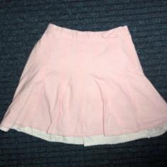 Fustita alb-roz in picatele mici, marca NEXT, fetite 18-24 luni/ 92 cm, Culoare: Multicolor
