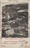 Ok-1396- Romania, Maramures, Costiui, Ronaszek, c.p. circulata 1902: Panorama, Fotografie
