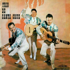 """Trio De Santa Cruz - Speedy Gonzales...Ole Mi Cha-Cha (10""""), VINIL, electrecord"""