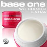 Cumpara ieftin Gel uv Polonia Silcare Base One pentru french, alb extra Bianco Extra 15 ml