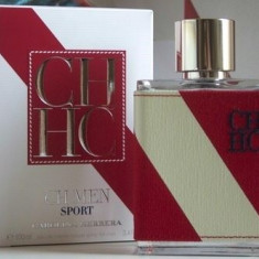 Carolina Herrera CH Men Sport Made in Spain - Parfum barbati, Apa de toaleta, 100 ml