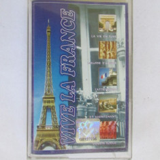 CASETA MUZICA-VIVE LA FRANCE - Muzica Ambientala, Casete audio