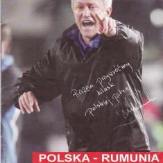 Program meci fotbal POLONIA - ROMANIA anul 2009