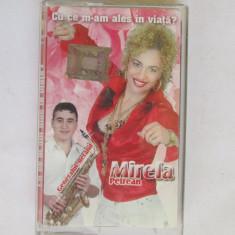 CASETA MUZICA-MIRELA PETREAN-Cu ce m-am ales in viata - Muzica Lautareasca, Casete audio