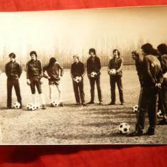 Fotografie- Antrenamentul Echipei Nationale de Fotbal, anii '70