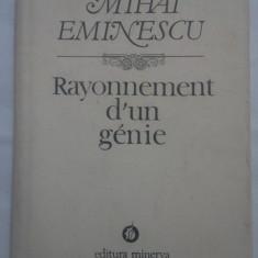 MIHAI EMINESCU - RAYONNEMENT D'UN GENIE (LB. FRANCEZA)