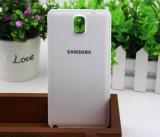 Capac spate alb Samsung Galaxy Note 3 N9000 + folie ecran, Plastic, Husa