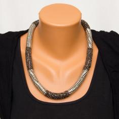 Colier fashion din elemente metalice