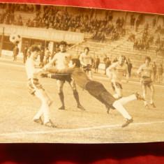 Fotografie Fotbal - Meci Tineret Romania - Albania, anii '70