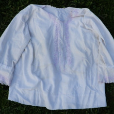 Ie veche frumoasa - Costum populare, Marime: M, Culoare: Alb