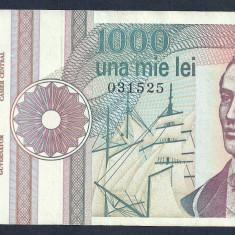 ROMANIA 1000 1.000 LEI 1991 [10] XF, serie fara punct - Bancnota romaneasca