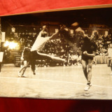 Fotografie -Meci de Handbal, anii '70, dim. = 18, 2 x 11, 5cm
