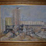 DIMITRIE LOGHIN - Pictura - Ulei pe panza 1 - Profesorul lui Ion Grigore - 1964! - Pictor roman, Peisaje, Altul