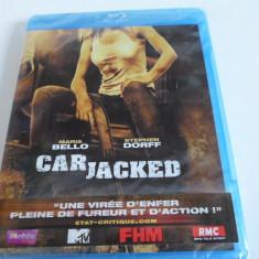 Film Blu-ray - CAR JACKED - Nou,Sigilat