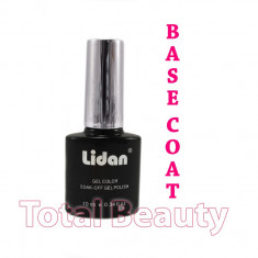 Base Coat Oja Semipermanenta Lidan Italia 10ml - Gel de Baza Oja Semipermanenta