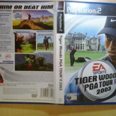 Tiger Woods PGA Tour 2003 - EA Sports - JOC PS2 Playstation - GameLand - Jocuri PS2, Sporturi, 3+, Multiplayer