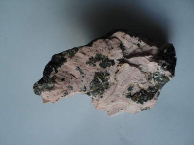Floare mina Rhodocrosit foto