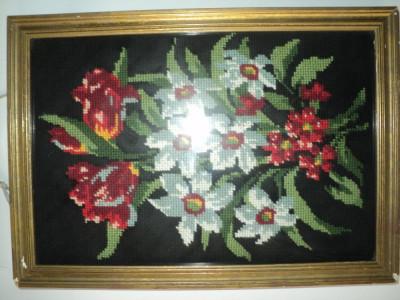 Goblen floral foto
