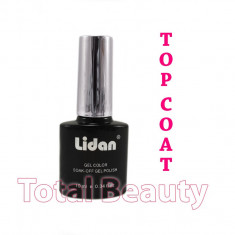 Top Coat Oja Semipermanenta Lidan Italia 10ml - Gel de Finish Oja Semipermanenta
