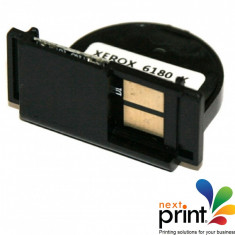 CHIP CYAN 113R00723 compatibil XEROX PHASER 6180 - Chip imprimanta