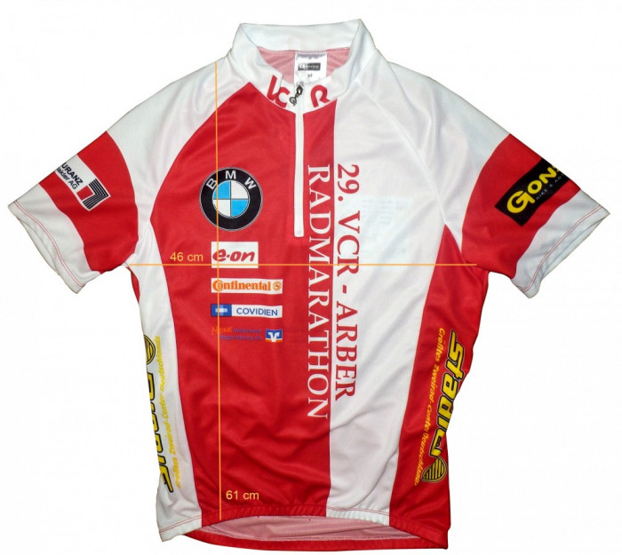 Tricou bicicleta ciclism GONSO original Germany, ca nou (XS) cod-169053 foto mare
