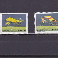 Aviatie istorie, Brazilia. - Timbre straine, Nestampilat