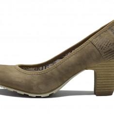 Pantofi dama, piele sintetica - s.Oliver - 22402 maro - Pantof dama