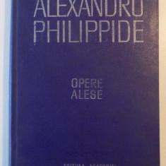 OPERE ALESE, TEORIA LIMBII de ALEXANDRU PHILIPPIDE, 1984 - Roman