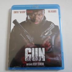 Film actiune Blu-Ray - GUN - 50 CENT - Nou, Sigilat, Franceza