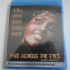 Film Blu-Ray - FIVE ACROSS THE EYES - Nou,Sigilat