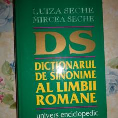 Dictionarul de sinonime al limbii romane (an 1997)- Luiza si Mircea Seche - Dictionar sinonime