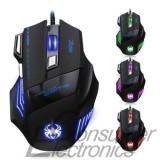 Mouse gaming 5500 dpi, USB, Optica, Peste 2000