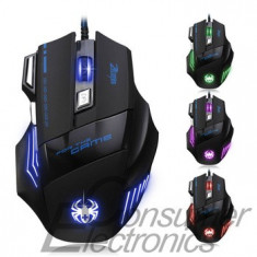 Mouse gaming 5500 dpi, USB, Optica, Peste 2000