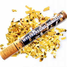 Tun confeti, confetti metalizate - Decoratiuni nunta