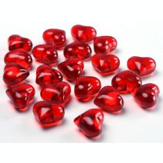 Cristale inimioare, Rosu, 30 buc