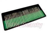 Set 30 freze pentru pila electrica de unghii - Capete de lucru freza unghii