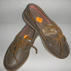 OFERTA! Mocasini/Pantofi dama SPERRY TOP SIDER originali noi piele manusa 36 - Mocasini dama Sperry, Culoare: Greige, Piele naturala