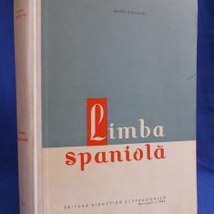 RENEE JERUSALMI - LIMBA SPANIOLA * ANUL 1 SPECIALITATE - UNIV.BUCURESTI - 1965 - Curs Limba Spaniola