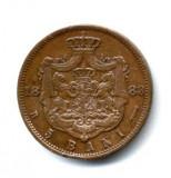 5 BANI 1883 STARE FOARTE FOARTE BUNA